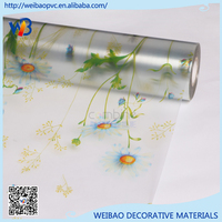 Stained Frosted film for window glass thickness `0.13mm