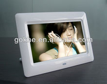 2014 Acrylic wifi 3d 7inch lcd china digital photo frame