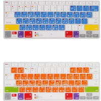 Hot-selling customized environment eco friendly keyboard silicon mac air laptop cover