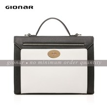 Business women saffiano leather hand bags export