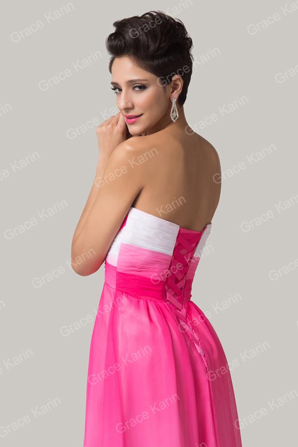 gasa coloridos un- línea largas cariño 2015 vestidos de fiesta ...