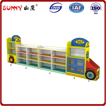 Factory supply wood infant toy closet in daycare