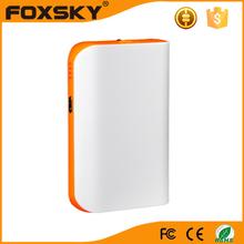 6000mah colorful portable battery charger LCD display power banks