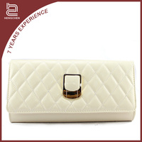 Handcee Trendy Lady Beige PU Handbags For Office Working Days