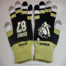 Wholesale magic five fingers knitted touch gloves