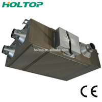 Cold Winter Area Apartment Use ERV/HRV, Heat Recovery Ventilator with Electric Heater
