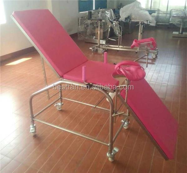 Bt Oe017 Ce Maternity Gynecology Chair Portable Ob Gyn