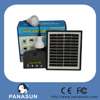 Top selling pv solar home lighting system for 3rooms Lighting with Africa certificate