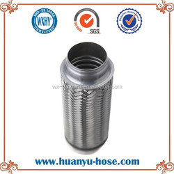 Exhaust flexible vibration pipe