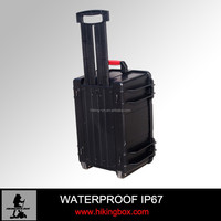 ABS trolley Case / plastic carrying case with Handle &wheeled