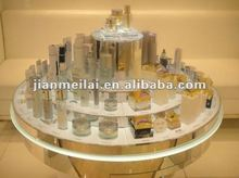 Acrylic cosmetic/makeup pop up display