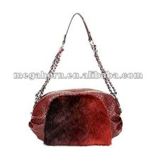 2012 Popular Designer Handbag With Fascinating Fur