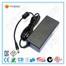 AC dc adapter 12v 5a power adapter switching mode power supply with FCC KC UL CE ROHS