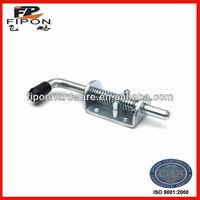 steel spring loaded bolt for trailer