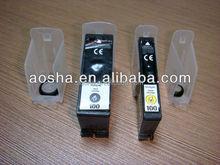 Transparent Inkjet Stroage Clips for Lexmark100 105 105XL 108XL C/Y/M/K OEM Remanufactured Cartridges