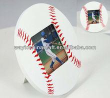Baseball Wooden Photo Frame