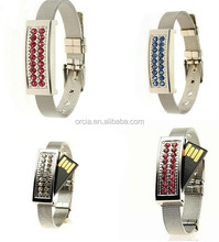 popular wrist jewelry usb flash drive 2.0