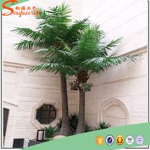 Atacado natural falso palmeira artificial decoração da árvore de coco