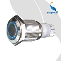 Saipwell China Professional Manufacture CE Push Button On Off Switch 16mm Push Button Light Switches Latching Push Button Switch