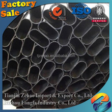 building materialTianjin Manufacturer Black Annealing Tube Price/Square/Oval/Round welded/seamless carbon steel pipe/black steel