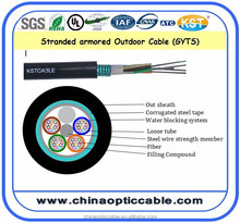 Hot Sale GYTS Steel Tape Armored Fiber Optical /Fibra Optica