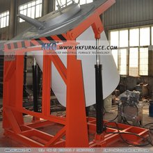 Hot sales small crucible furnace for melting aluminum