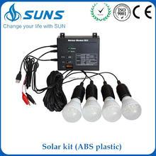 Mass supply ABS plastic portable mini solar system 1000watt