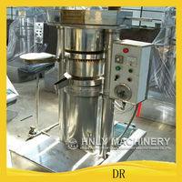 Hydraulic cold pressing style oil press machine