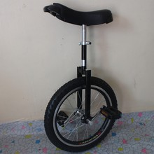"Motorcycle 16"" Double alloy rim Unicycle Height Adjustable Black color CE/ASTM F963-11 Approved"