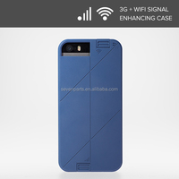 3G+WIFI signal Booster LINKASE PRO Protective Skin Cover Case for phone 5 / 5S-Green