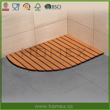 Non Skid Bamboo Bath Mat/Shower Mat/Homex_FSC/BSCI