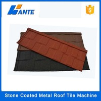 Trade assurance types of steel sheet stone coated roof steel roof tile