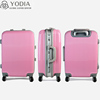 Spinner 360 degree Rotating Trolley PC Zipper Hard Case, Luggage bag with simple design, Colorful suitcase
