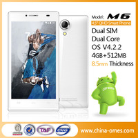 Shenzhen Android 4.2 Bluetooth WIFI GPS 3G 5inch cell phone