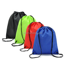 Wholesale cheap 210D polyester drawstring bag;drawstring backpack;srawstring sport pack