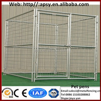 Animal centers used large pet fences pet clinics breeding cages personal high eco friendly foldable fence panels dog kennels