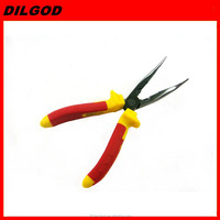holding tools bent nose pliers hand tool
