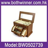 New style jewelry box velvet