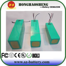 36v 20ah li-ion Electronic bike battery 18650 rechargeable battery pack with long cycle life battery