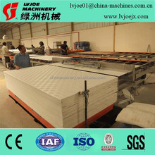 building and construction gypsum ceiling board lamination machine