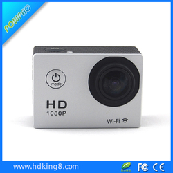 WiFi Mini Waterproofing Action Sports Camera with 170-degree Wide-angle Lens, Support Full HD 1080P digital hidden cameras