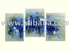 Abstract painting, textured on canvas, handmade ,exclusive brazilian art