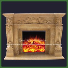 Interior Antique Marble Fireplace Surrounds