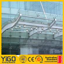 folding canopy ,glass garden canopy made in China