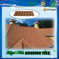 colorful stone coated matel roofing sheet/roofing materials/red roofing tile building material
