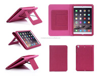 Wholesale Products Customize PU Leather Tablet Flip Cover For iPad mini 3
