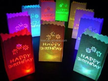 wholesale luxury cute paper gift candle bags for decoration wholesale