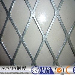 Hot dipped Galvanized and pvc coated expanded metal mesh /expanded metal mesh home depot