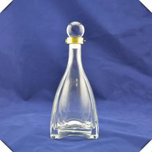 Wholesale empty fancy liquor 750ml various sizes custom glass bottle manufacturers