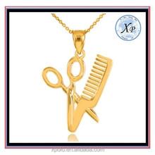 FACTORY PRICE Scissor Shape Alloy Jewelry Charm